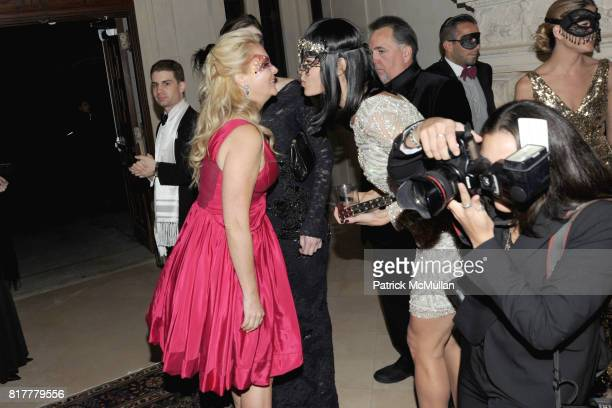 Cornelia Guest and Mary Alice Stephenson attend VIP MASKED BALL for Susan G Komen Headlined by Sir Richard Branson Katie Couric Cornelia Guest HM...