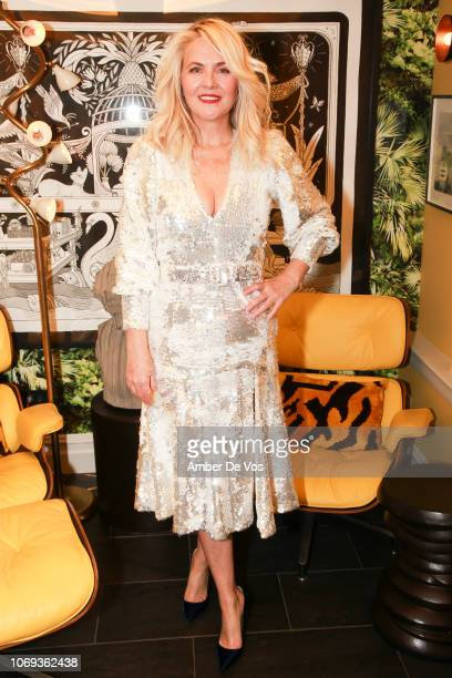 Cornelia Guest attends a Holiday Fete hosted by Cornelia Guest And John Demsey at a Private Residence on November 6, 2018 in New York City.