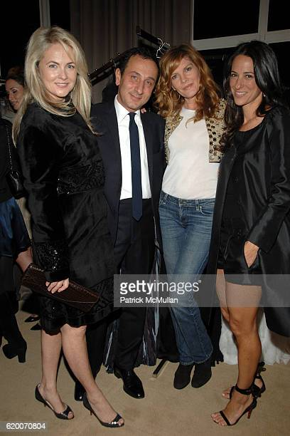 Cornelia Guest Gilles Mendel Renee Russo and guest attend THE EXCLUSIVE RED CARPET COLLECTIONS Cocktail Party Hosted by GILLES MENDEL and KARA ROSS...