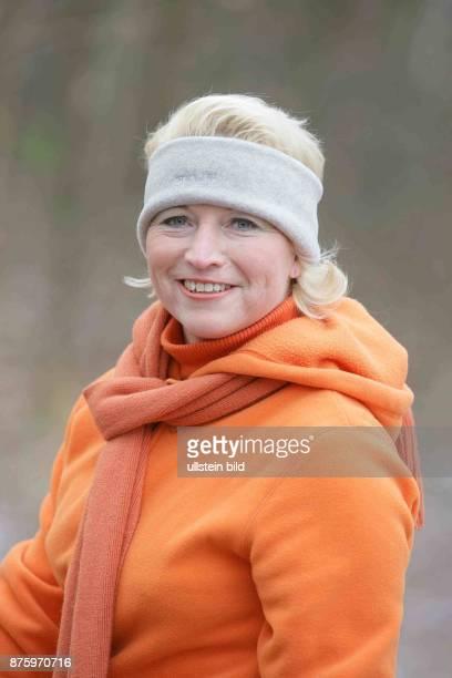 Cornelia Pieper FDP Generalsekretaerin D in Sportkleidung