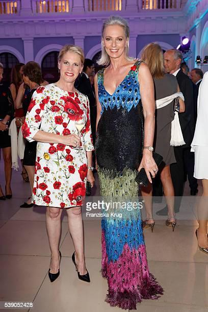 Cornelia Poletto and Petra van Bremen attend the 'Das Herz im Zentrum' Charity Gala on June 9, 2016 in Hamburg, Germany.