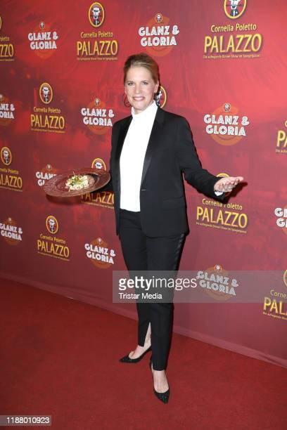 Cornelia Poletto at the Polettos Palazzo at Spiegelpalast on November 15 2019 in Hamburg Germany