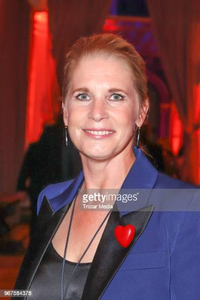 Cornelia Poletto attend the Charity Gala 'Das Herz im Zentrum' on June 4, 2018 in Hamburg, Germany.