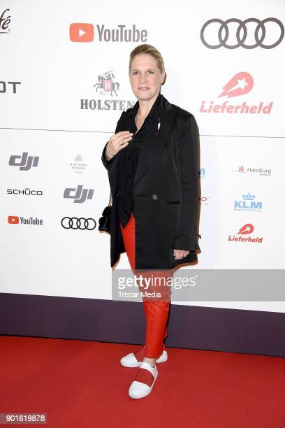 Cornelia Poletto attends the Channel Aid Concert at Elbphilharmonie on January 5 2018 in Hamburg Germany
