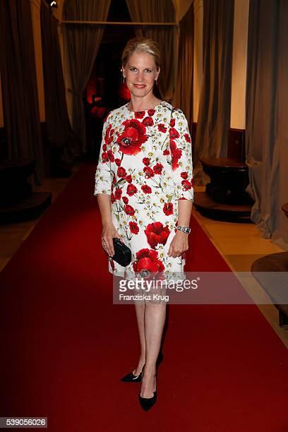 Cornelia Poletto attends the 'Das Herz im Zentrum' Charity Gala on June 9, 2016 in Hamburg, Germany.