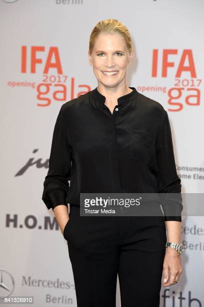 Cornelia Poletto attends the IFA 2017 opening gala on August 31 2017 in Berlin Germany
