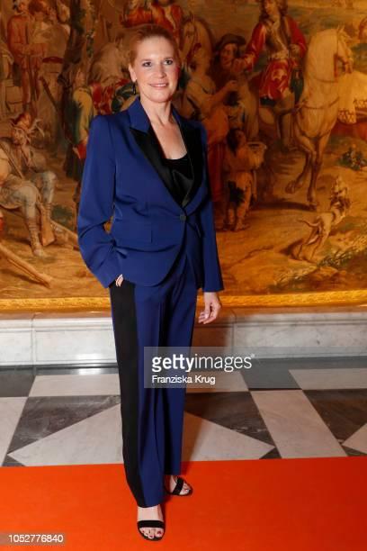 Cornelia Poletto during the 'Die Europa' award to women entrepreneurs hosted by the Club of European female entrepreneurs at Fairmont Hotel Vier...