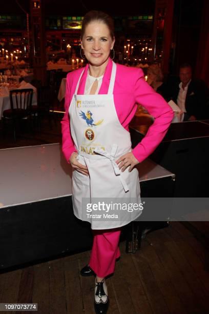 Cornelia Poletto during the Palazzo by Cornelia Poletto charity event on February 7, 2019 in Hamburg, Germany.