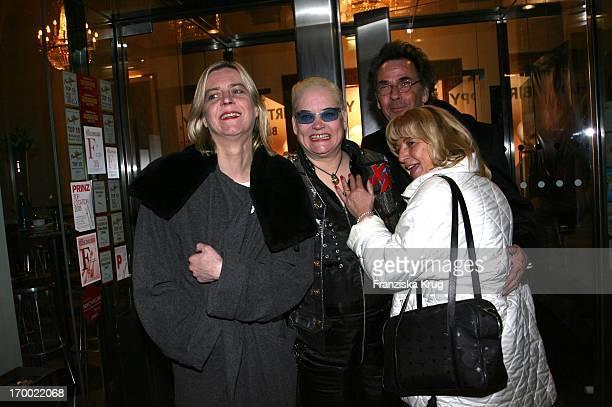 Cornelia Scheel Hella Von Sinnen Hugo Egon Balder And Evi Zander celebrate his 80th Birthday By J Fuchsberger At the aftershow party at of New From...