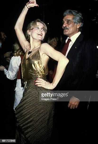 Cornelia Sharpe and Omar Sharif circa 1980 in New York City