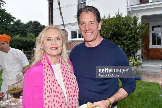 Cornelia Sharpe Bregman and Ed Shanahan attend Alzheimer's Association Hosts Rita Hayworth Gala Hamptons Kickoff Event at Private Residence on July...