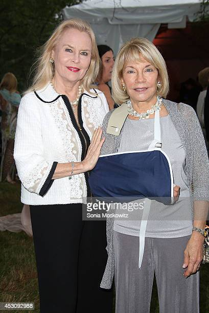 Cornelia Sharpe Bregman and Kristi Witker attend the Southampton Hospital's 56th Annual Endless Summmer party on August 2 2014 in Southampton New York
