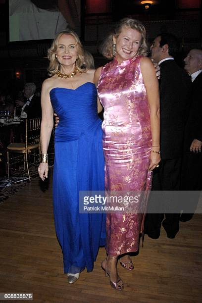 Cornelia Sharpe Bregman and Lady Liliana Cavendish attend The 2007 Alzheimer's Association Rita Hayworth Gala at Waldorf Astoria on October 10 2007...