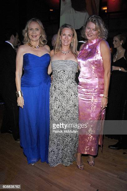Cornelia Sharpe Bregman, Anne Hearst McInerney and Lady Liliana Cavendish attend The 2007 Alzheimer's Association Rita Hayworth Gala at Waldorf...