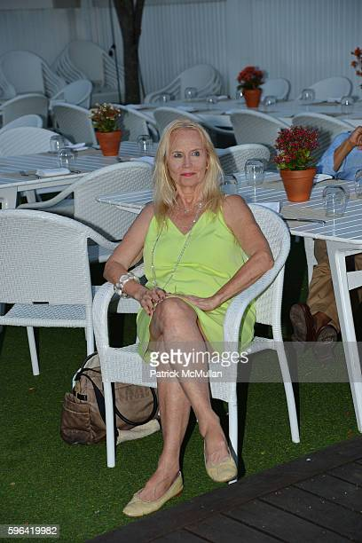 Cornelia Sharpe Bregman attends NYC Mission Society Cocktails and Conversations in Southampton at OREYA Hamptons on August 25, 2016 in Southampton,...
