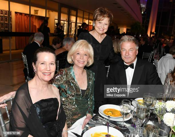 Cornelia Toevs Lesley Stahl Deborah Borda and Alec Baldwin attend the New York Philharmonic's Opening Gala New York Meet Jaap at David Geffen Hall on...