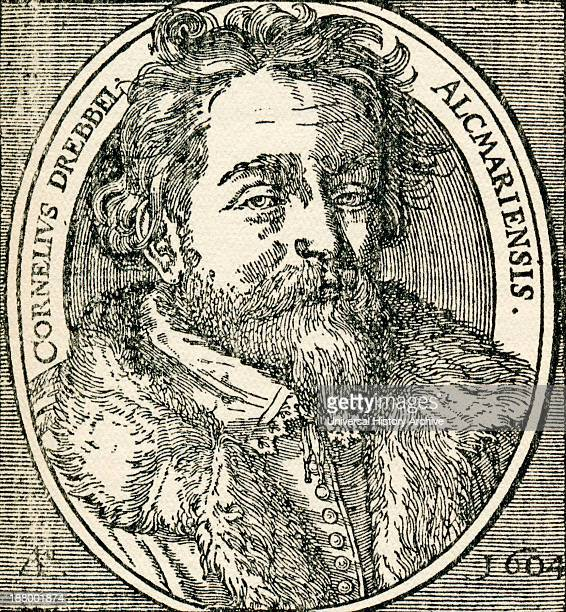 Cornelius Jacobszoon Drebbel 1572 To 1633 Dutch Inventor Of The First Navigable Submarine In 1620 From Geschiedenis Van Nederland Published 1936