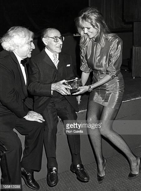 Cornell Cappa, Alfred Eisenstaedt and Cheryl Tiegs