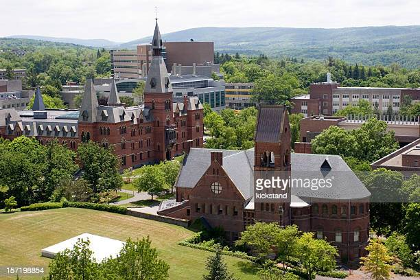 cornell university campus - ivy league university stock photos and pictures
