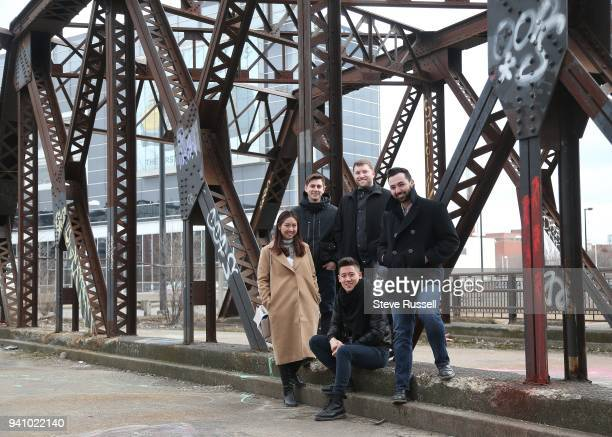 TORONTO ON MARCH 9 Cornell University in Ithica NY Four teams of university students who won finalist spots in the Urban Land Institute's competition...