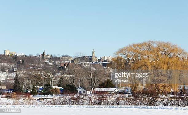 Cornell University Landmark Buildings - Ithaca, New York, USA