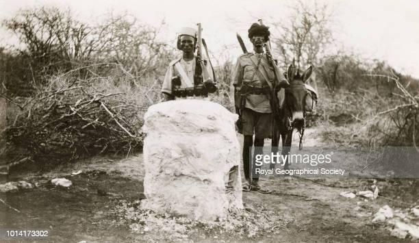 Corner boundary pillar El Ghala Kenya 1925