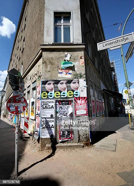 Corner building in Linienstrasse, Berlin Mitte