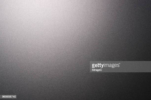 corner lit matte metallic texture - metallic stock photos and pictures