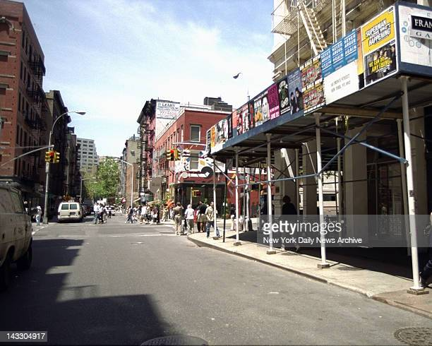 Corner of Prince St and West Broadway the last place where 6yearold Etan Patz was seen by his mother He disappeared 20 years ago