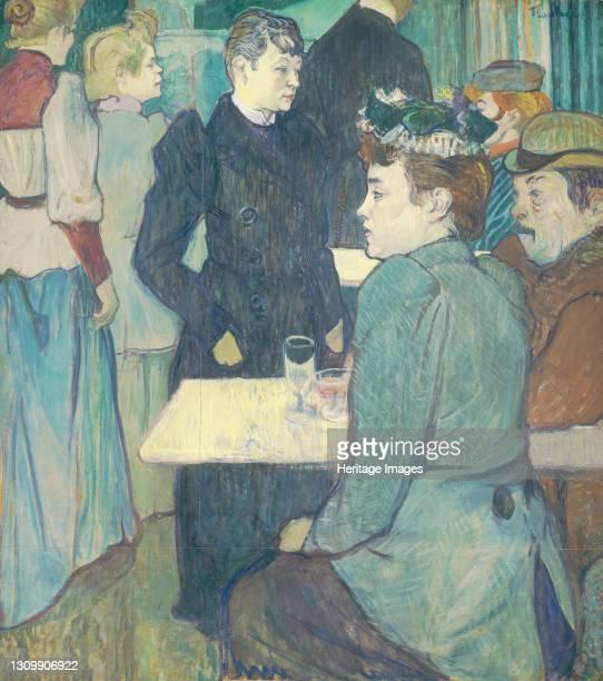 Corner of the Moulin de la Galette, 1892. Artist Henri de Toulouse-Lautrec. .