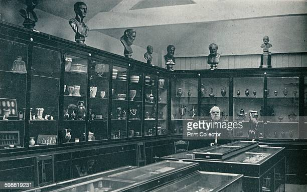 Corner View of the Wedgwood Museum on the Old Works at Etruria Staffordshire circa 1908 The Etruria Works was a ceramics factory opened by Josiah...