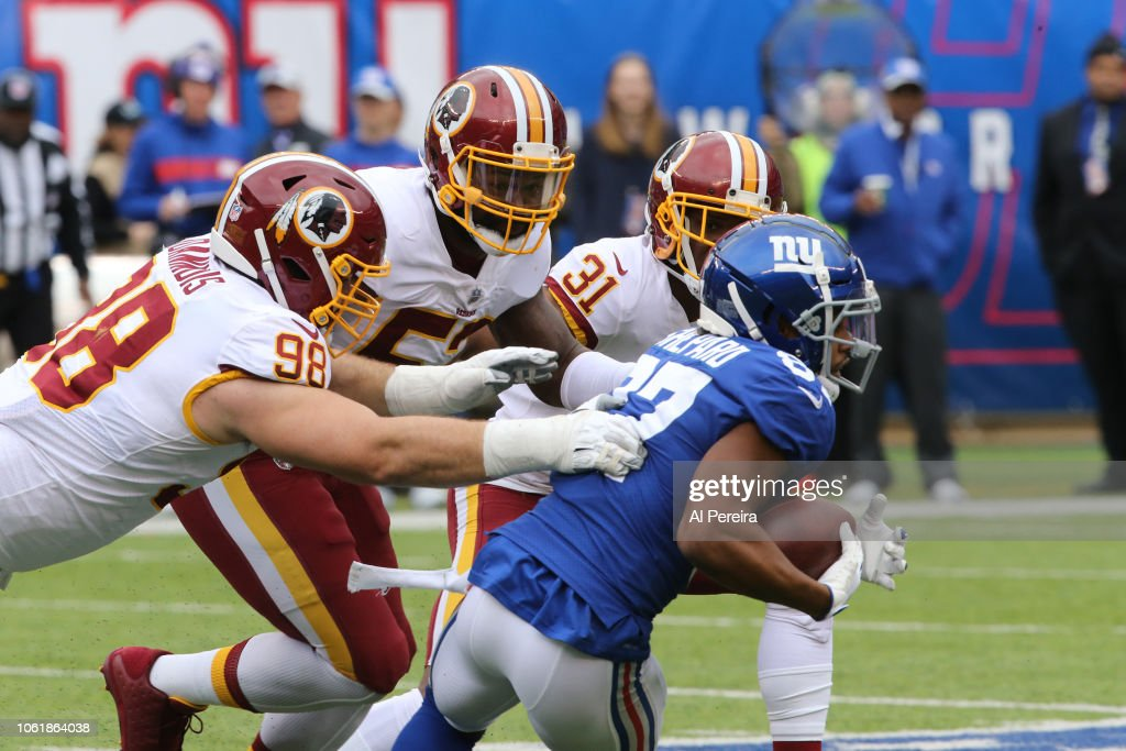 Washington Redskins v New York Giants : News Photo