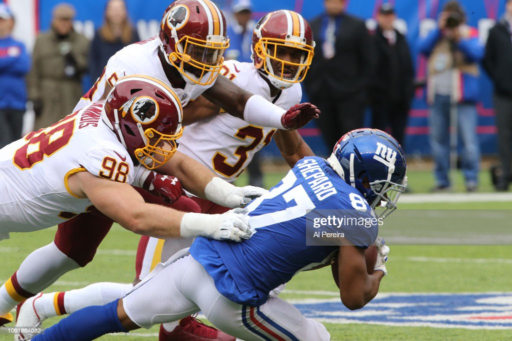 Washington Redskins v New York Giants : Nachrichtenfoto