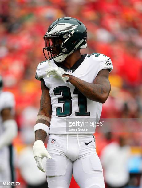 Cornerback Jalen Mills of the Philadelphia Eagles in action during the game against the Kansas City Chiefs at Arrowhead Stadium on September 17 2017...