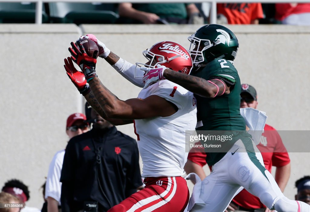Indiana v Michigan State : News Photo