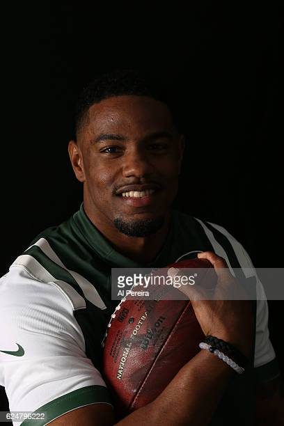 Cornerback Juston Burris of the New York Jets appears in a portrait taken in 2016 in Florham Park New Jersey