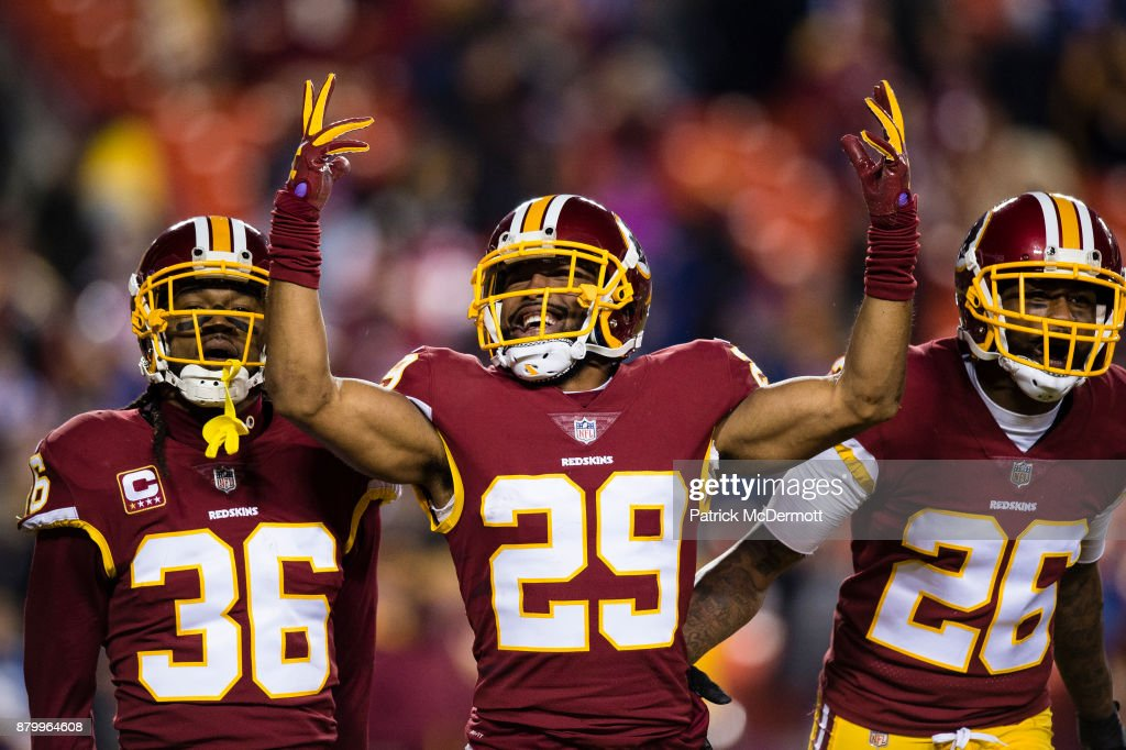New York Giants v Washington Redskins : News Photo