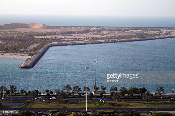 Corniche and Lulu Island