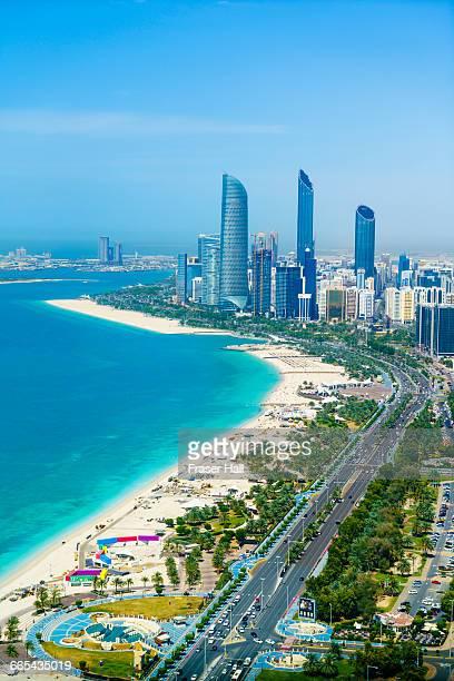 Corniche and skyline, Abu Dhabi