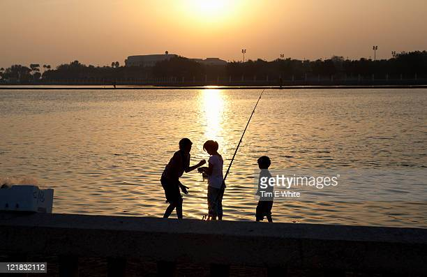 Corniche at sunset, Jeddah, Saudi Arabia, Middle east