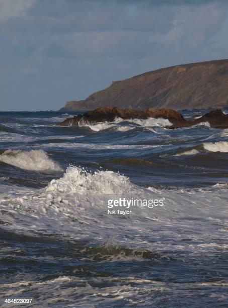CONTENT] Cornish coast Cornwall UK