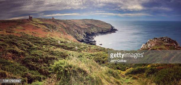 cornish coast - history stock pictures, royalty-free photos & images