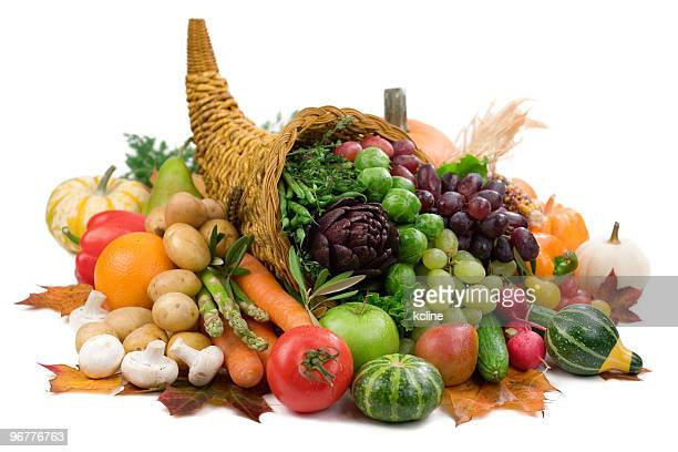 秋の恵み - 豊穣の角 ストックフォトと画像