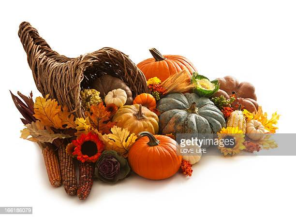 cornucopia - fall harvest stock pictures, royalty-free photos & images