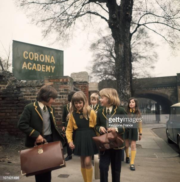 Corona Academy In London In EnglandUnited Kingdom