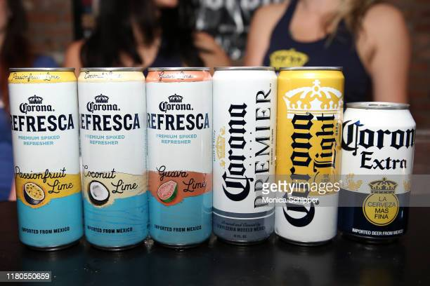 Corona at the Food Network Cooking Channel New York City Wine Food Festival presented by Capital One Tequila Cazadores Tacos After Dark presented by...