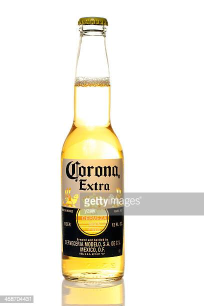 corona bottle - corona beer stock pictures, royalty-free photos & images