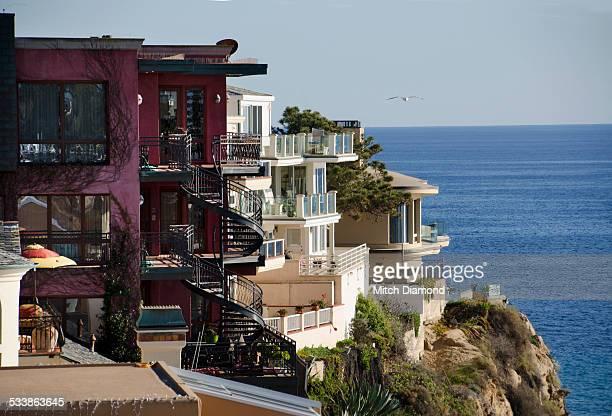 corona del mar coast - orange county california stock pictures, royalty-free photos & images