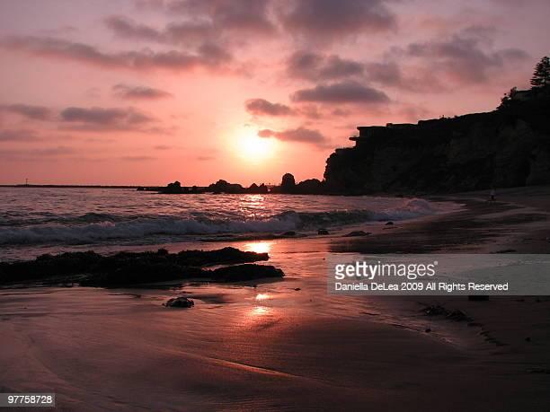 corona sunset - newport beach california stock pictures, royalty-free photos & images