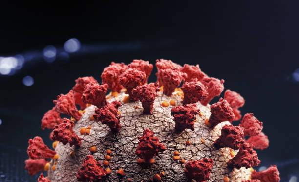 corona virus close up - covid19 stock pictures, royalty-free photos & images